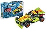 UniBlock Remote Control Brick Car - Buildable RC Race Car 136 pc- Compatible with Major Brands