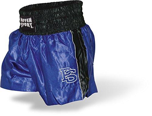 Paffen Sport Contest Thai Wettkampf-Short; blau/schwarz; GR: S