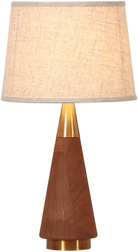 Walnut Table Seattle Mall Lamps Modern Simplicity Bedsi Spring new work one after another Creativity Wood Solid