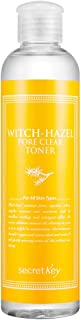 witch hazel toner secret key