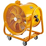 BestEquip 750W Explosion Proof Fan 18 Inch(450mm) Utility Blower Fan 220V 60HZ Speed 1720 RPM for Extraction and Ventilation in Potentially Explosive Environments