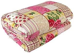 Shine Crafts Reversible Double Bed Cotton Quilt/AC Blanket/Dohar