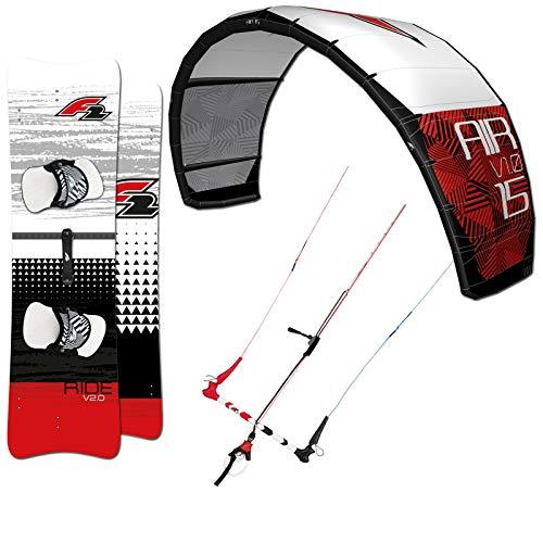 F2 2019 Big AIR V1.0 12 QM Kite ~ BAR V2.0 LEICHTWIND...