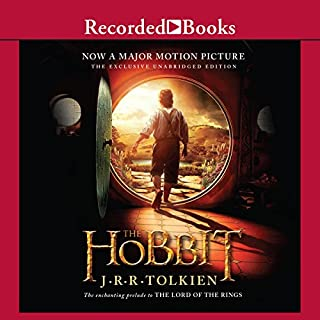The Hobbit audiobook cover art