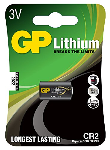 GP photo lithium CR2 3V