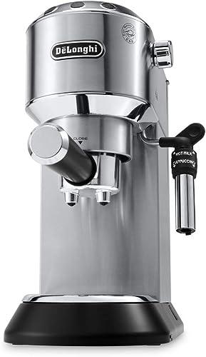 De'Longhi Dedica Style, Traditional Barista Pump Espresso Machine, Coffee and Cappuccino Maker, EC685M, Metal [Intern...