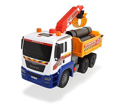 Dickie Toys 203809005 - Air Pump Utility Truck, Nutzfahrzeug, 57 cm
