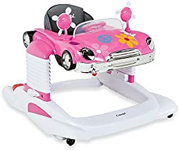 Combi Baby Activity Walker – All-in-One Mobile Activity Center, Entertainer, and Snack Tray - Bounce, Drive and Play