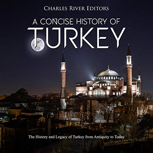 A Concise History of Turkey audiobook cover art