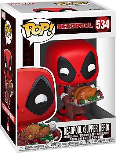 Funko Pop Deadpool con pavo de Acción de Gracias (Deadpool 534) Funko Pop Deadpool