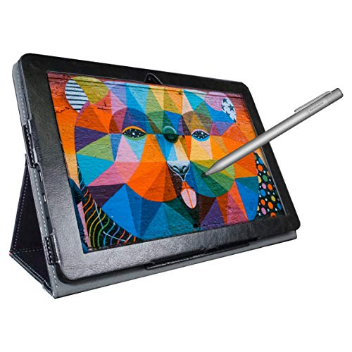 [4 Bonus Items] Simbans PicassoTab 10 Inch Drawing Tablet and Stylus Pen,...