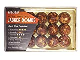 WeDesi Dry Fruit Laddoos | Jagger Bombs | Gluten Free| High in protein and vitamins | No Added Sugar | For your festive needs (Tray - 15 Servings)