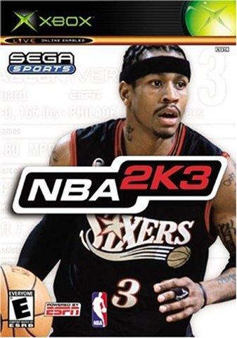 NBA 2k3 Xbox