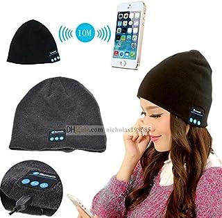 """Fone-Case Amazon Fire Kids Edición 7""""inalámbrico Bluetooth gorro con auriculares estéreo auriculares altavoz y manos libres buit-in negro"""