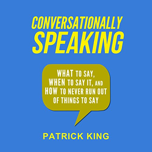 Conversationally Speaking audiobook cover art