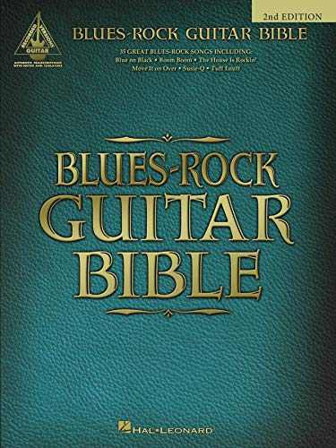 Blues-Rock Guitar Bible Songbook (English Edition)
