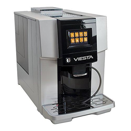 Viesta One Touch 500 dispensador de café máquina de café Cafetera Café Espresso Cappuccino Latte Macchiato - Plata