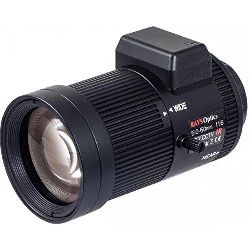 VIVOTEK AL-234 Lente cámaras de Seguridad y Montaje para Vivienda - Accesorio para cámara de Seguridad (Lente, Universal, Negro, CS Mount, 1/2.7', 5-50 mm)