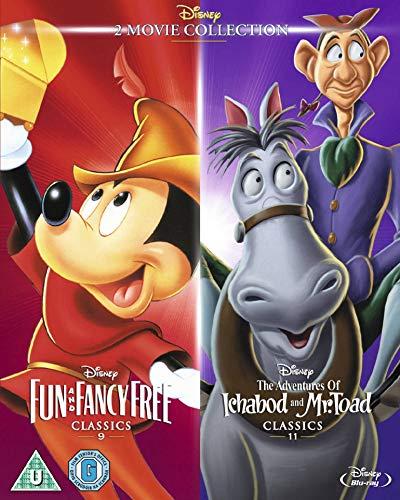 Oferta de Fun & Fancy Free/ Ichabod and Mr Toad [Blu-ray]
