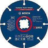 Bosch Professional 2608901193 1x Discos de Corte Expert Carbide Multi Wheel X-Lock (Ø 125xGrosor mm 1,0 mm, Accesorios Amoladora), Ø 125 mm