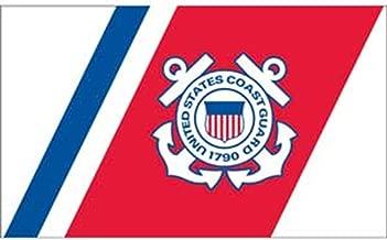 EagleEmblems F1326 United States Coast Guard 1790 Flag, 3' x 5'