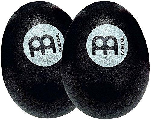 Meinl Percussion ES2-BK Egg Shaker (Paar), schwarz