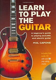 Learn to Play the Guitar by Capone, Phil. (Chartwell Books, Inc.,2009) [Spiral-bound]