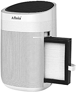Afloia Electric Dehumidifier 1000ml Quiet Portable Dehumidifier for Bathroom, Bedroom, RV and Replacement Filter