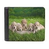 Cute Animal Puppy Art Poster1 cuero PU cartera embrague, puede acomodar tarjetas de crédito, efectivo, etc. DIY monedero personalizado, moda tarjeta de crédito caso
