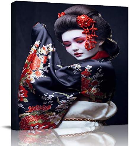 Modern geisha art