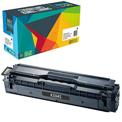Cartuccia toner Do it wiser compatibile in sostituzione di Samsung CLT-C504S c504s C1810W CLX-4195FN CLP-415 CLP-415N CLP-415NW CLP-470 CLP-475 CLX-4195N CLX-4195FW SL-C1860FW CLX-4170 (Nero)