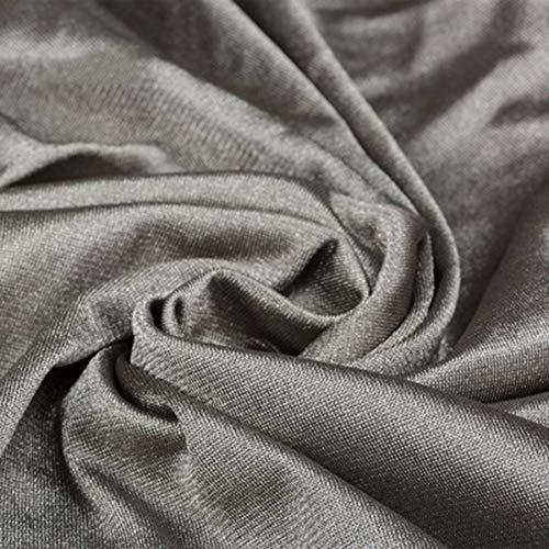 Lhlxs 100% Silberfaser Abschirmgewebe Grau Strahlenschutzgewebe Weit 150CM * 100CM