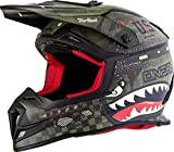 O'NEAL 5 Series Warhawk Motocross Enduro MTB Helm grün/schwarz 2018 Oneal: Größe: M (57-58cm)