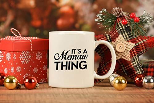 Eli231Abe Memaw Gifts for Christmas Coffee Mug Personalizado Memaw Taza Regalo de Nieto Regalo de Nieto Taza de Té Envío Gratis
