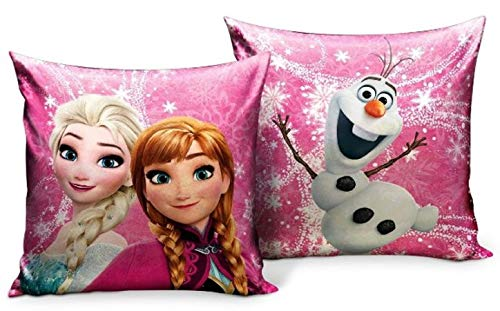 Star Disney Frozen Art. Code- 55897, cuscino stampato, dimensioni: 35 x 35 cm