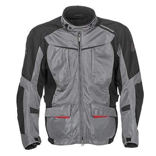 Fieldsheer Men's Hi-Pro Mesh Jacket (Gunmetal/Black, Medium)