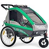 Qeridoo Q8000-S KidGoo-1 uşaq velosiped romanı (1 uşaq), rəngli variant: gro