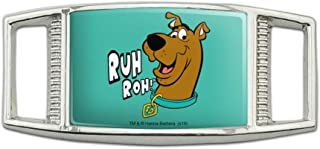 Scooby-Doo Ruh Roh Rectangular Shoe Shoelace Shoe Lace Tag Runner Gym Charm Decoration