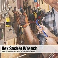 六角ソケット レンチ、45# 鋼、ハンド ツール、ワンタイム フォーミング、9 サイズ、工業生産用、ねじに力を加える
