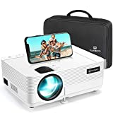 Videoprojecteur, VANKYO Supporte 1080P Full HD Projecteur Retroprojecteur Portable Multimédia Home Cinéma Compatible VGA HDMI AV...