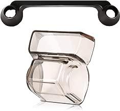 LEOBRO DJI Spark Gymbal Lens Cap Camera Cover Protector Guard 1PCS & Transport Clip Remote Controller Transmitter Operating Lever Protector 1PCS