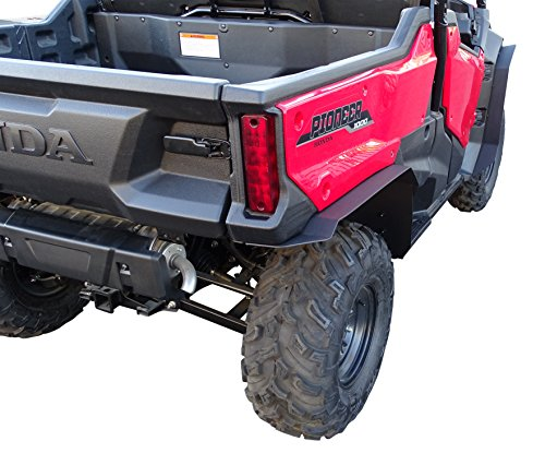 MudBusters Fender Flares for Honda Pioneer 1000-3 (Extra Coverage)