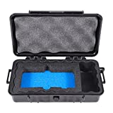 Cloudten Airtight Travel Carry Case for Handheld Devices and Accessories - Includes CASE ONLY