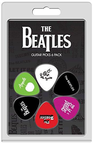 Perri's Leathers LP-TB4 The Beatles-Confezione di 6 plettri per chitarra