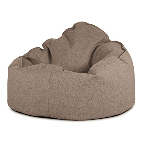 Lounge Pug®, Pouf Poire, Petite Mammouth', Interalli Laine Biscuit