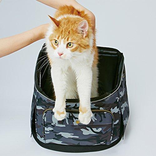 ペティオ(Petio)ネココリュックキャリーカモフラ猫用