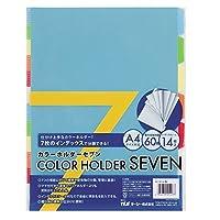 (まとめ買い) テージー カラーホルダーセブン (カラー) CC-147-00 カラー 【×10】