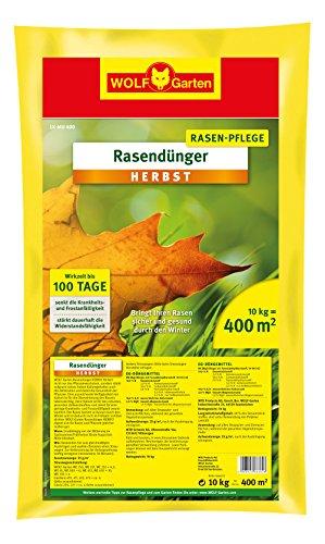 WOLF-Garten - Rasen-Herbst-Dünger LK-MU 400; 3835040