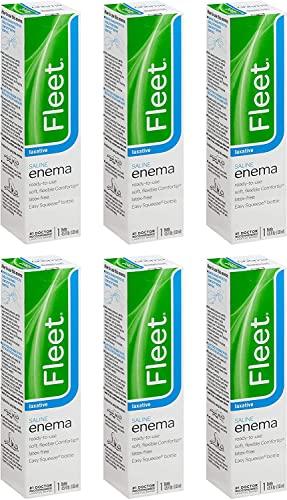Fleet Enema 4.5 Oz Regular (Pack of 6)