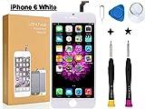 Oli Ode iPhone 6 修理パーツ フロントパネル 3D 液晶パネルタッチスクリーン修理交換用 A1586, A1589, A1549 (修理工具付属)